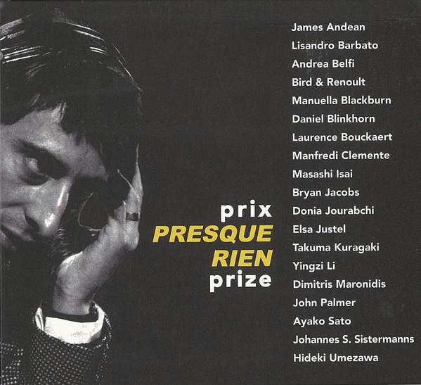 prix Presque Rien prize PPRP 001CD